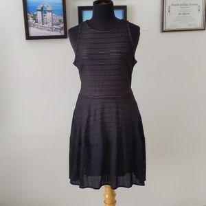 BCBG stretch mesh dress like new